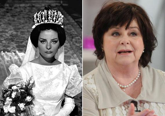 Béres Ilona, Az aranyember boldogtalan Tímeája a forgatás idején még a Színművészeti Főiskolára járt. A hűvös szépséget megformáló színésznő ma már 73 éves, a Halhatatlanok Társulatának tagja.