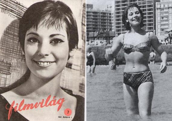 Buenos Airesben a Mar del Plata strandján, 1968-ban. Az egy évvel korábban forgatott Egy szerelem három éjszakája című film nő főszereplője volt. Az argentin filmfesztiválon a legjobb rendezés díját nyerte el a magyar alkotás.