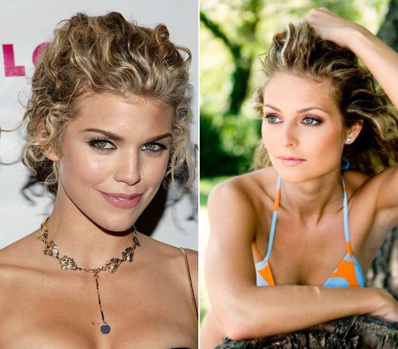Bálizs Anett, a Jóban Rosszban című sorozat 1984-ben született főnővére, valamint az 1987-es születésű Annalynne McCord, a Kés/Alatt és a 90210 sztárja. Nemcsak az arcuk és a hajuk hasonlít, hanem a karrierjük alakulása is: mindketten modellkedtek, míg szerepet nem kaptak egy ismert tévésorozatban.