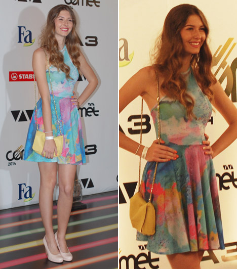Bogi  A mindössze 17 éves Dallos-Nyers Boglárka, vagyis Bogi, a Dal 2014-es adásainak egyik legnagyobb sztárja pasztellszínű, nyári ruhát húzott.