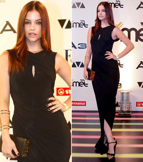 Palvin BarbaraA világhírű magyar modell egy földig érő estélyiben pózolt - a lábtartást pedig Angelina Jolie is ellesheti.