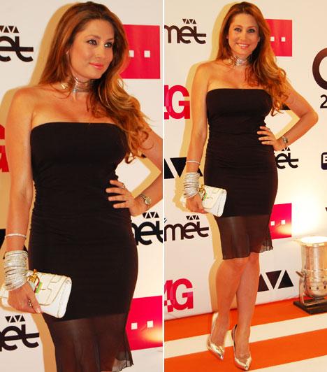 Horváth ÉvaA VIASAT3 műsorvezetője egy a nőies idomait kihangsúlyozó, testhezálló, fekete Magenta darabban vonzotta a tekinteteket.