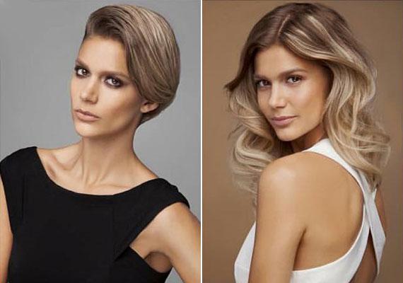 Mintha nem is Weisz Fanni lenne - az első képen a 23 éves modell koránál jóval idősebbnek tűnik, a jobb oldali képen pedig mintha Dukai Reginát látnánk.