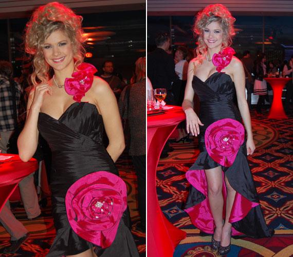 Szívesen vesz részt jótékonysági rendezvényeken. 2012 áprilisában a rendhagyó esküvői divatbemutatót, ahol a fotó készült, azért szervezték, hogy az Országos Mentőszolgálat gyermekmentő részlegét támogassák.
