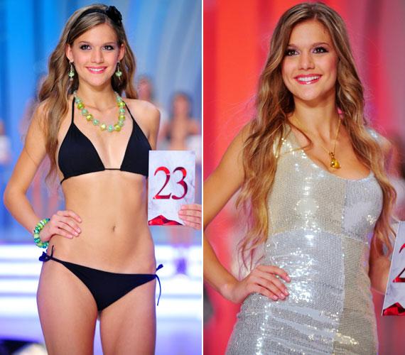 A TV2 közvetítette a műsort, amiben a 19 éves, bájosan mosolygó, gyönyörű lány lett a nézők és a közönségdíj nyertese.