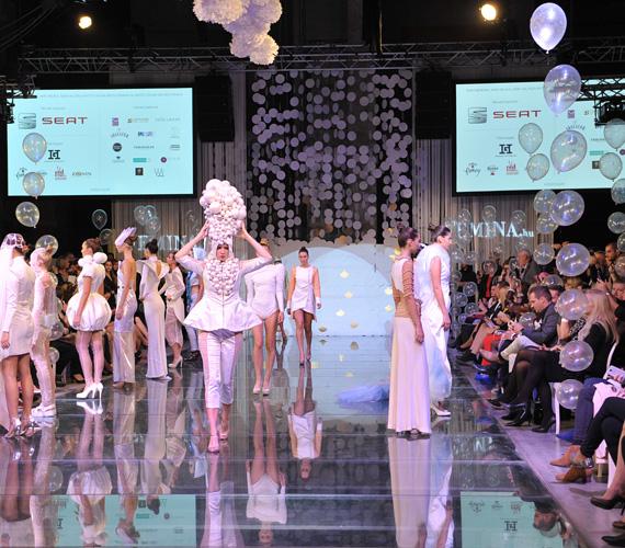 Különleges ruhákat láthatott a White Caviar 000 Divatshow közönsége.