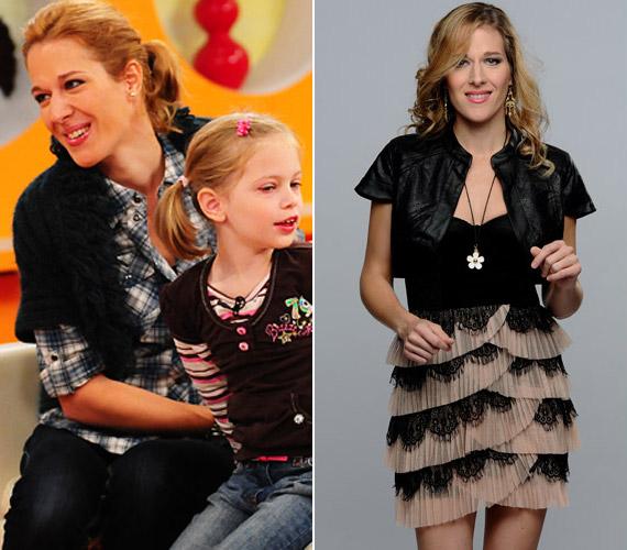 Az énekesnő kétgyerekes anyukából igazi sztárrá változott.