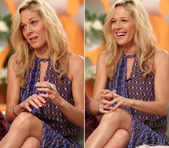 Tavaly augusztusban az RTL Klub Reggelijének egyik adásában is csak leheletnyi sminkkel volt látható, ami cseppet sem vont el nőiességéből.