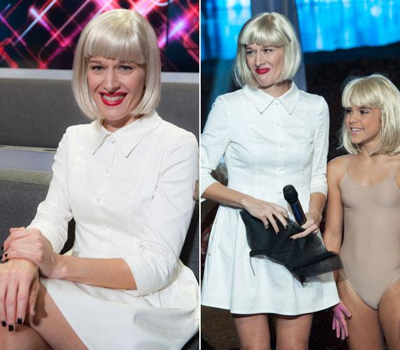 Maximális pontszámot kapott, amikor Sia - Chandelier című slágerét énekelte. A színpadi produkció a háttérben táncoló kislány miatt is emlékezetes maradt.