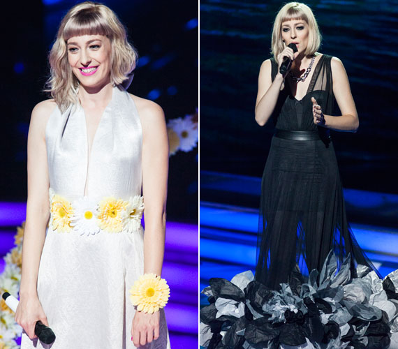 Horányi Júlia állt már a színpadon bájos tavasztündérként és feketébe öltöztetett végzet asszonyaként is.