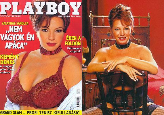 Zalatnay Sarolta 2001-ben azzal hívta fel magára a figyelmet, hogy 54 évesen levetkőzött a Playboy magazinnak.