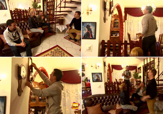 Zámbó Krisztián, Szebasztián és Adrián azt mesélték, egyetlen hangszer volt, amin édesapjuk nem tudott játszani, de azért néha megszólaltatta azt is - ez a hegedű volt, ami máig ott függ a falon.