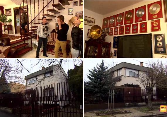 Ebben a csepeli házban élt Zámbó Jimmy 2001. január 2-i haláláig. Az énekes 42 évesen, tragikus körülmények között hunyt el.