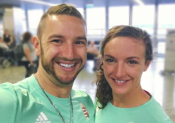 Hosszú Katinka és férje, Shane Tusup a nap 24 órájában együtt vannak: nemcsak házaspárként, de edző-versenyzőként is teljesíteniük kell.