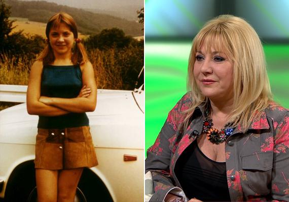 A kép bal oldalán látható copfos, barna hajú kislány a 14-15 éves Zoltán Erika, aki a képen látható testtartása alapján akkoriban még nem igazán szerette, ha fényképezik. Azóta ez megváltozott.