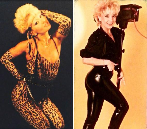 A táncosnőként is tehetséges énekesnő irigylésre méltó alakján bármilyen vadító ruha jól állt.