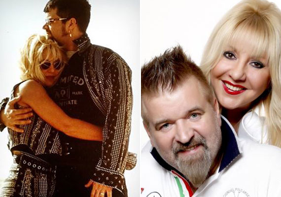 A bal oldali fotót Zoltán Erika a közösségi oldalán osztotta meg. 25 éve, novemberben döntötték el, hogy együtt folytatják, majd hét évvel később, 1997-ben örök hűséget fogadtak egymásnak.