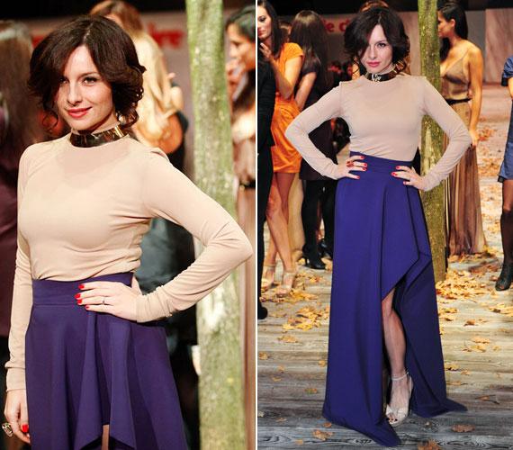2011-ben a Marie Claire Fashion Days divatbemutatóján, a Wam Designban szintén a USE egyik ruhájában lépett kifutóra.