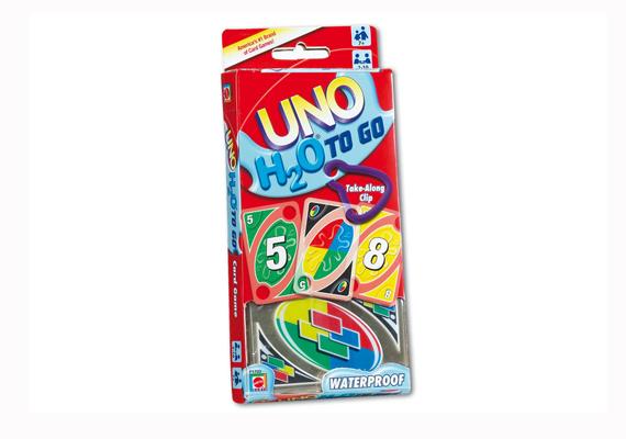 Az UNO-kártyák legújabb generációját akár még a nyaralásra is elvihetitek, hiszen vízálló. A játék teljesen a logikára épül, így egyszerre tanulhat és játszhat a gyerek. Itt rendelheted meg 2990 forintért.