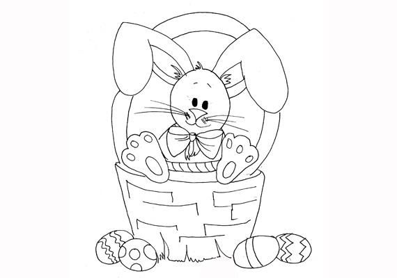 Valaki nagyon őrzi azokat a húsvéti tojásokat. Töltsd le a színezőt innen!