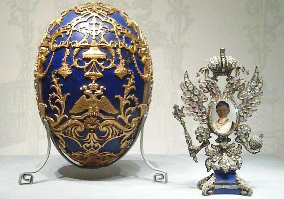 Ez a tojás a cárevicsnek készült ajándékba.