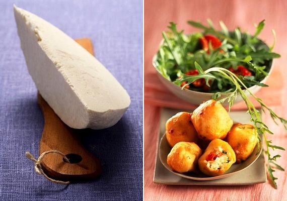 Ízletes krokettgolyó, amely salátával tálalva ebédre és vacsorára is jó ötlet. A receptért kattints ide!