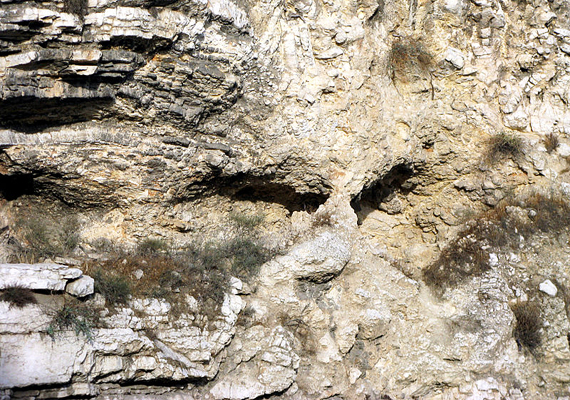 Már-már kísérteties, hogy a sziklák bemélyedései jól láthatóan egy emberi koponyát, mondhatni arcot formáznak. A szkeptikusok szerint csak véletlen egybeesés, de a hívők szerint Jézus Krisztus jelent meg ilyen formában.