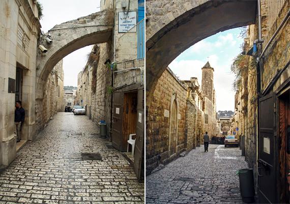 Most csupán csak egy történelmi városrésznek tűnik, de állítólag ezen az útvonalon hordozta végig Jézus a keresztet a Golgotáig. A neve is erre utal: a Via Dolorosát leginkább a fájdalmak vagy szenvedés útjának lehet fordítani.