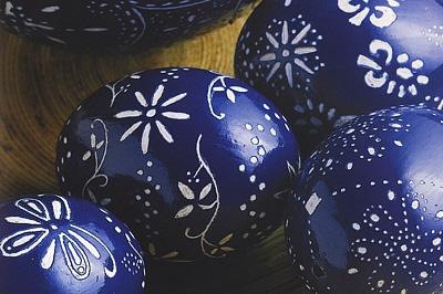 Kékfestő tojások