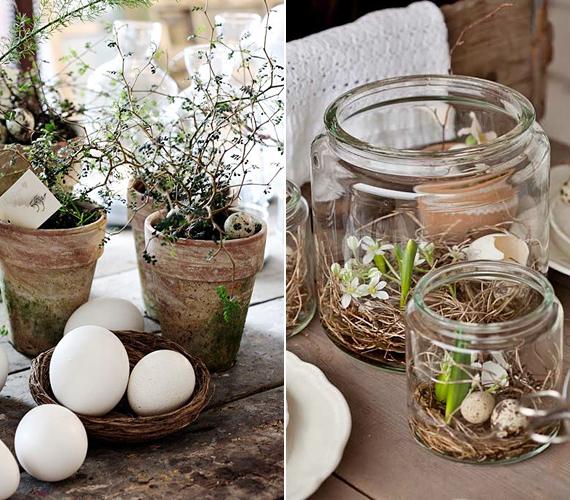 Virágcserepek mellé téve vagy befőttesüvegekbe rendezve vidéki tavaszt varázsolhatsz a lakásodba.