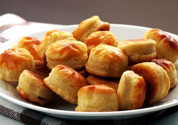A sós sütemények között mindig tarol a pogácsa. Próbáld ki ezt a receptet!