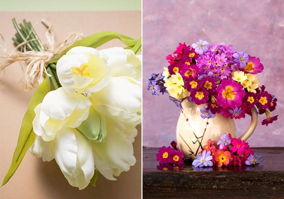 Nem kell feltétlenül tojásokkal telepakolnod a lakást, egy friss vagy szárazvirágcsokor is tökéletesen feldobja az otthonodat.