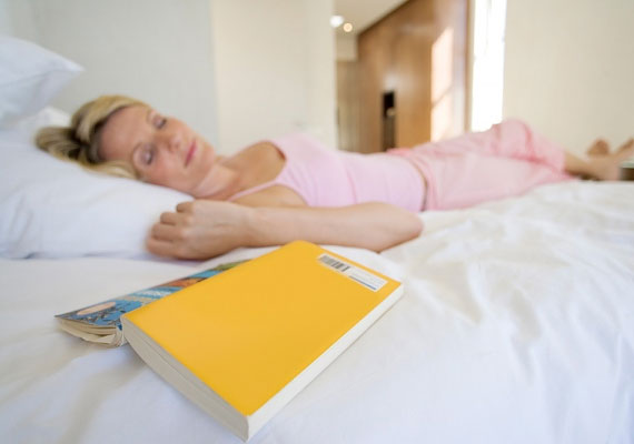 A romantikus lányregények, önfejlesztő és csakratisztító könyvek nem pasiknak valók.