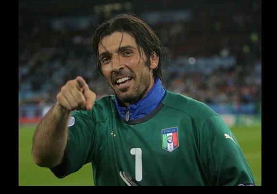 Gianluigi Buffon, az olaszok kapusa.