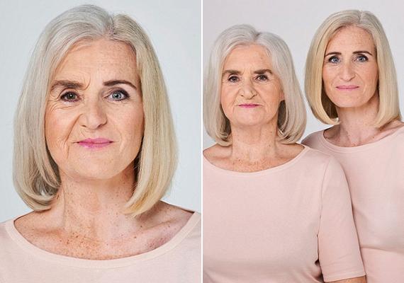 Esther (73) és lánya, Wendy (43)