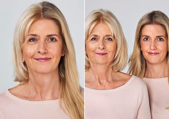Sara (62) és lánya, Clemmie (30)