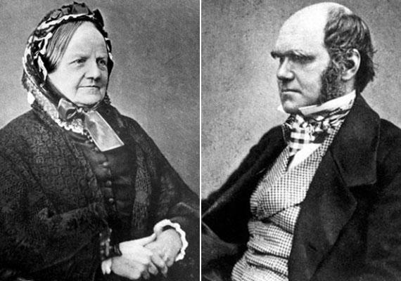 Darwin ugyancsak első unokatestvérét, Emma Wedgwoodot vette feleségül, de ő azért aggódott kicsit a gyerekeik genetikai állományáért.