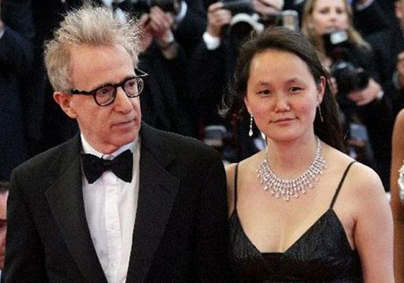 Woody Allen nevelt lányával, Soon-Yi-vel házasodott össze.