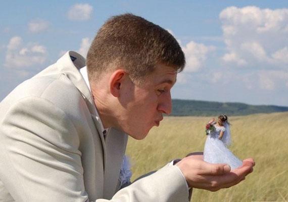 A legcikibb esküvői fotókat tekintve egyértelműen az oroszok állnak az első helyen.