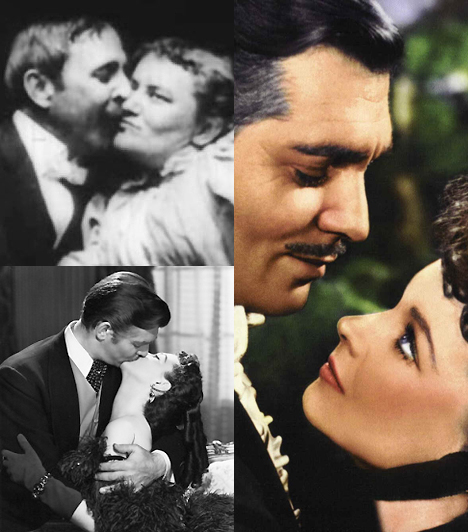 Az első csók  A filmtörténet első csókja nem sokkal a mozgókép megszületése után, 1896-ban már el is csattant. A mindössze pár perces jelenet meglehetősen kapkodósra veszi a Beatrice Byke arcán elcuppant bajuszos csókot, ezzel szemben 1939-ben Vivien Leigh és Clark Gable csókja már legendásan hosszúra nyúlt.