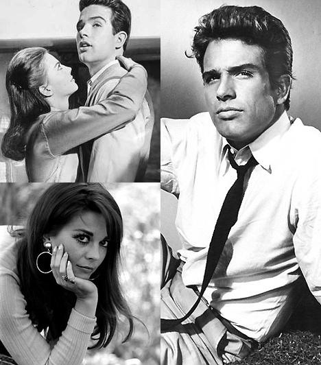 Az első forró, igazi csók                         Az első sebes cuppantás után Natalie Wood és Warren Beatty volt, akik a Hayes kódex szigorú erkölcsi szabályzata ellenére az 1961-es Ragyogás a fűben című moziban egy igazi, forró csókot váltottak, nyílt ajkakkal. Merészségük nem kis felháborodást váltott ki, mégis forró csókok egész hullámát indították el.