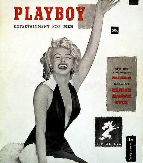 Playboy 1953-ban Hugh Hefner alapította az első erotikus magazint, a Playboyt. A címlapon stílusosan Marilyn Monroe pózolt, a kor egyik legnagyobb szexszimbóluma.