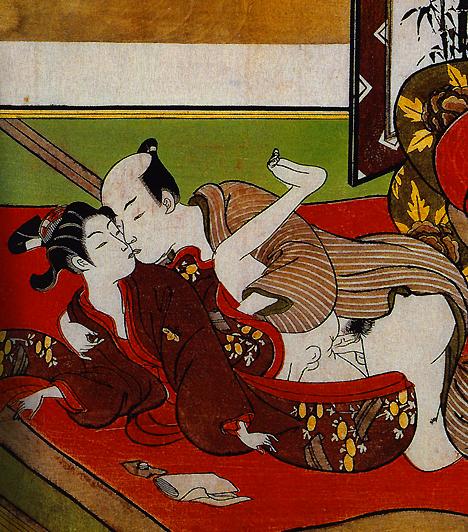 Erotika az ősi Japánban  Bár a Káma-szútrához mérhető szexkalauz Japánban nem született, legalább olyan gazdag erotikus kultúrával rendelkezett, mint India. A homoszexualitás kultusza sem csak a görögök számára volt ismert ekkor, hiszen a szamurájok körében is divat volt a férfiszerelem, avagy jaoi. Emellett a szexuális tematikájú ábrázolások sem ritkák, amelyeket szungának neveznek.