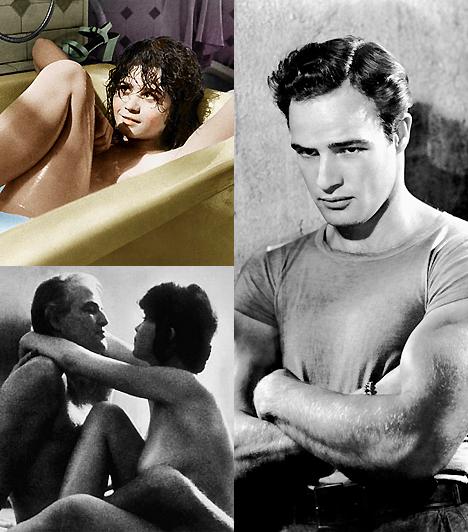 Az utolsó tangó Párizsban                         Bertolucci filmjének szexábrázolása erőteljesen súrolja a pornográfia határait. A hirtelen teret követelő lázadó kulturális felszabadulás időszakának arcpirító alkotása ez, amelyben Marlon Brando és Maria Schneider alaposan átszabja a pornó és a művészfilm kategóriáit.