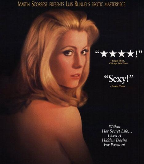 A nap szépe  A nap szépeLuis Buñuel 1967-es filmje, mely Joseph Kessel 1928-as novellája alapján készült, Catherine Deneuve főszereplésével. A főhős, Séverine Serizy főállásban háziasszony és feleség, ám szabadidejét prostituáltként tölti.  Kapcsolódó cikk: A mozitörténet 18 legbujább filmje »