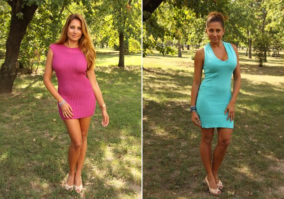 Az élénk színek sem állnak távol a műsorvezetőtől, több adásban is viselt pink, illetve türkizes-kékes árnyalatokat.