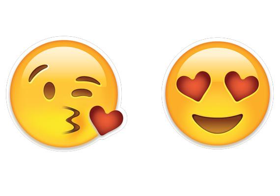 Ha nincs puszi?A puszis emoji hiánya nem feltétlen jelenti a flörtölési szándék hiányát, de csak egy feltétellel. A Singles in America Survey felhívta a figyelmet, hogy a férfiak és a nők emoji-használata eltérő: míg flörtöléskor a nők inkább a bal oldali emojit szúrják szövegükbe (30% vs. 24%), addig a férfiak a jobb oldalit, a szívecskés szemű emojit használják (20% vs. 13%).