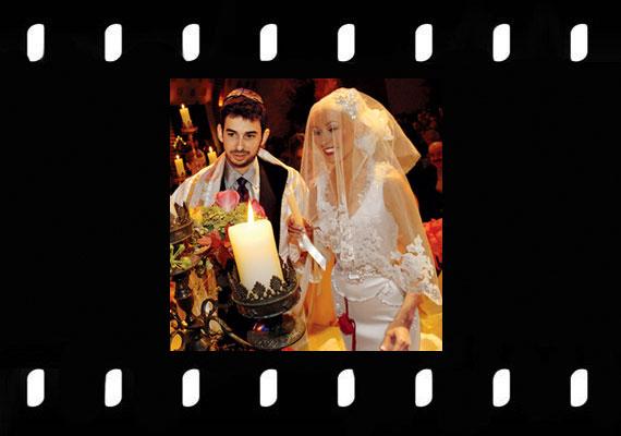 Christina Aguilera és Jordan Bratman 2005-ben házasodtak össze a kaliforniai Napa Valley-ban, a ceremóniára 2 millió dollárt áldoztak.
