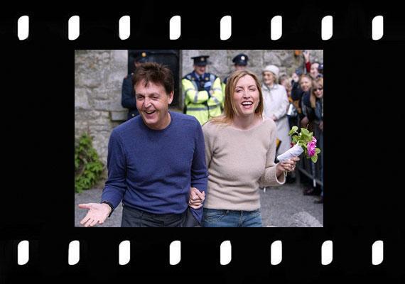 Paul McCartney és Heather Mills 3 millió dollárt áldozott az alkalomra 2002-ben.