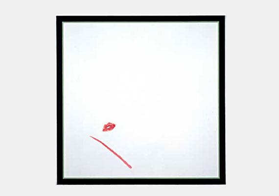 1977-ben egy Ruth van Herpen nevű nő csókot nyomott Jo Baer kiállított festményére, mely egy fehér vászon volt. A bíróságon azzal védekezett, hogy a festmény olyan fagyosnak tűnt, kicsit fel akarta dobni.